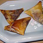 recette BRICKS BANANE-NUTELLA