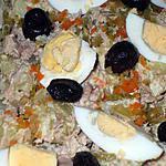 """recette """" Ensaladilla de patatas con variantes""""...( Salade de P.d.terre )"""