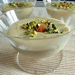 recette Mousse pistaches-abricots secs