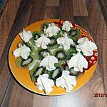 recette kiwis et sa chantilly  aux pommes