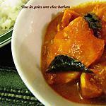 recette Curry de saumon à la tomate (meen kulambu)