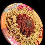 recette Spaguettis Boulettes !