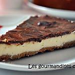 recette Cheesecake crémeux au chocolat et barres de mars