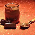 recette Crèmes dessert au chocolat au COOK'IN