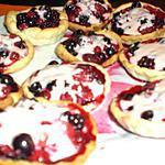 recette Tartelette de fruits rouges au chamalow  !