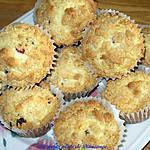 recette Muffins strudels aux canneberges et orange