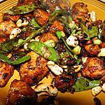 recette Poulet aux noix de cajou (plat chinois)