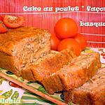 recette Cake façon basquaise