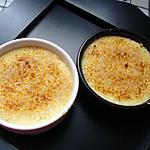 recette petits pots de crème à la noix de coco