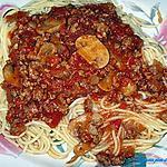 recette Sauce spagetti aux 2 viandes