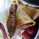 recette Samossas choco-framboise