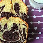 recette Cake marbré au chocolat