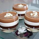 recette verrine trois chocolat