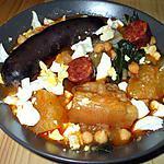"""recette """" Potaje andaluz""""... de """"Maman """"....( Spécialité tipique du sud de l'Espagne...)"""