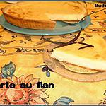 recette Tarte au flan