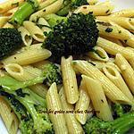 recette Penne rigate au brocoli (penne rigate e broccoli)