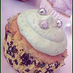 recette Cupcakes à la ganache montée aux pistaches