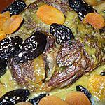 """recette """" Tajine de Pruneaux et abricots"""" De  """"tata Taous""""..."""