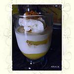 recette Coupe mousseuse au fromage blanc et à la pomme aux spéculoos de cécilia