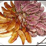recette Magret de Canard aux Pommes et aux Poires