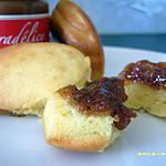 recette madeleines au caramel et beurre salé