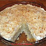 recette Tarte au coconut à l'ancienne