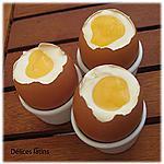 recette Oeufs à la coque au chocolat blanc et citron (lemon curd) pour pâques