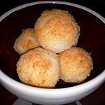 recette Petites bouchées à la noix de coco ( recette de Mathiie )