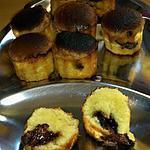 recette Cannelés aux amandes et nutella