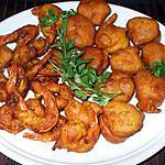 """recette """" Beignets de crevettes...à la Pékinoise""""...."""