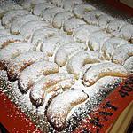 recette Vanillekipferl: petits croissants à la vanille