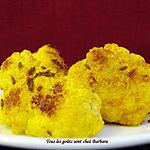 Chou-fleur grillé au curcuma et au cumin