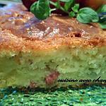 recette cake aux lardons et roquefort