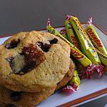 recette Cookies aux éclats de carambars