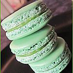recette Macarons au citron vert