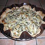 recette Tarte au poulet et haricot vert