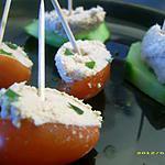 recette petits légumes en apéro frais
