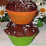 recette Muffins aux dattes et au chocolat