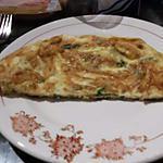 recette Omelette aux asperges