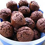 muffin au chocolat sucré facile et simple