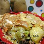 recette Tartiflette aux poireaux et aux chanterelles