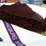 recette Fondant chocolat et crème de marron