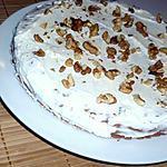 recette Carrot cake aux noisettes