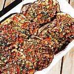 recette Aubergines grillées marinées