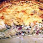 recette tarte poulet lardons champignons