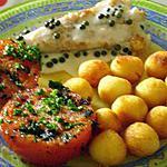 recette queue de lotte au poivre vert