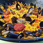 recette Paella de moules à la catalane