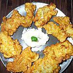 recette Pescadillas rebozadas... con aïoli...( Filets de merlans avec aïoli...)