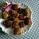 recette friandises au caramel pour Pâques