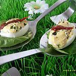 recette oeufs de cailles à la diable (apéro de pâques)